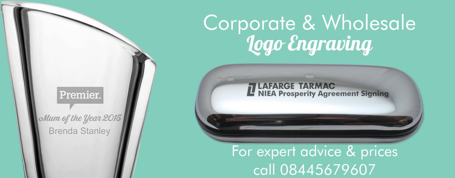 Logo engraving service engraving metal, wood, glass, acrylic and much more