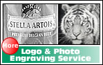 Logo And photograph engraving service