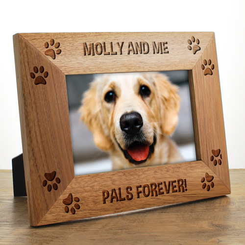 dog photo frames personalised. Black Bedroom Furniture Sets. Home Design Ideas