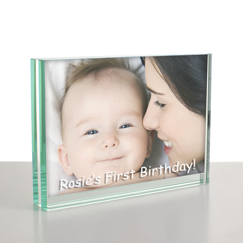 My First Birthday Photo Frame Personalised