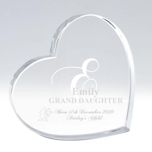 Star Sign Gift Crystal Keepsake New Mum Gift Newborn