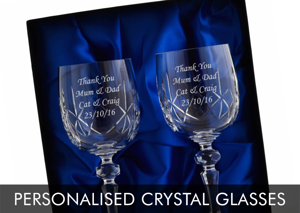 Personalised Crystal Glasses