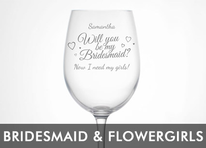 Bridesmaid And Flowergirl Gifts