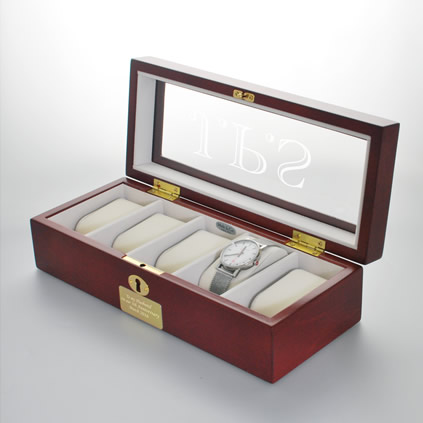 Personalised Luxury Watch Box