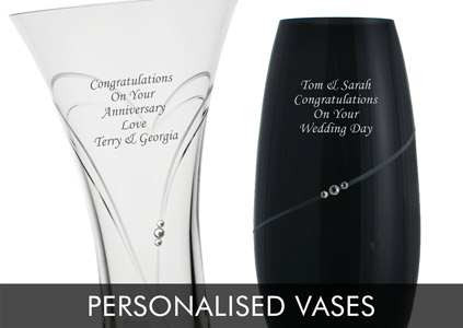 Engraved Glass Personalised By