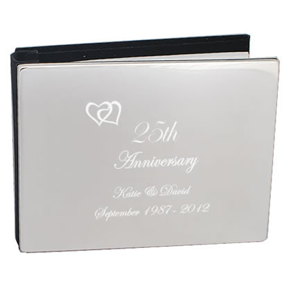 25th silver wedding anniversary gifts by keepitpersonal