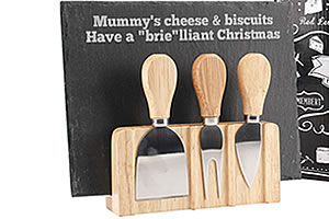 Personalised Cheeseboard Set
