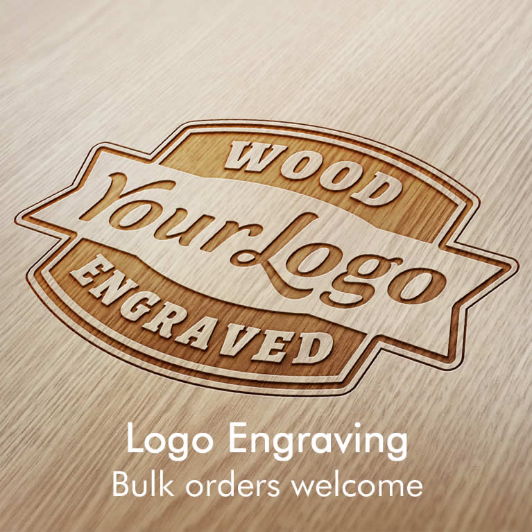 Logo Engraving Service, Corporate And Wholesale Bulk Orders