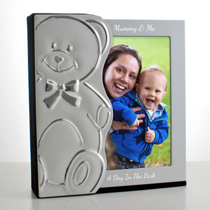 Teddy Personalised Baby Photo Album 6 x 4