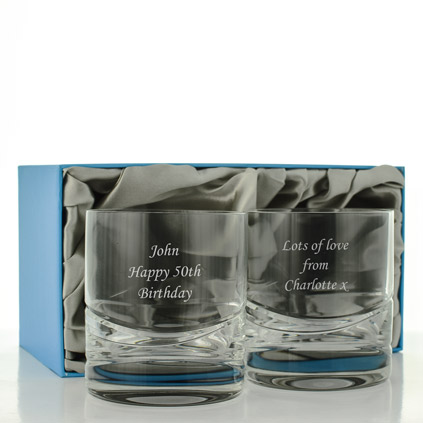 52e202853f9 Engraved Whisky Tumblers Personalised By KeepItPersonal
