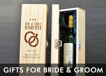 Wedding Gifts For Bride From Groom Uk : Engraved Wedding Gifts, Free Personalisation And Bulk Discounts